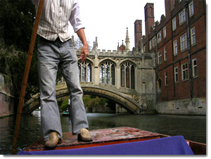 Un canal en Cambridge