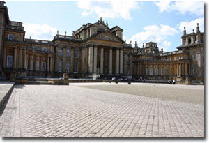 Patio del palacio de Blenheim