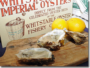 Ostras de Whitstable