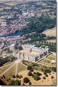 Vista aerea de Windsor