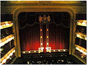 Interior del Royal Opera House