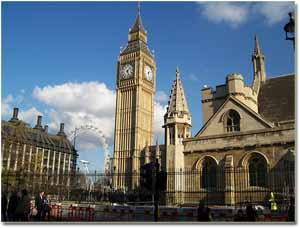 Torre Big Ben de Londres