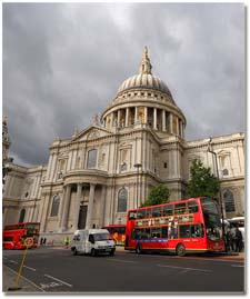 Catedral St Paul en Londres