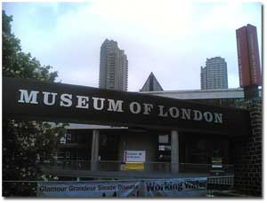 Entrada al Museum of London de Londres