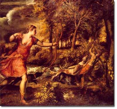 La muerte de Acteón