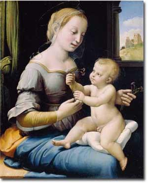 La Virgen de los Claveles