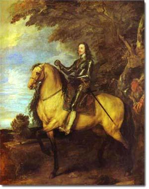 Retrato Ecuestre de Charles I