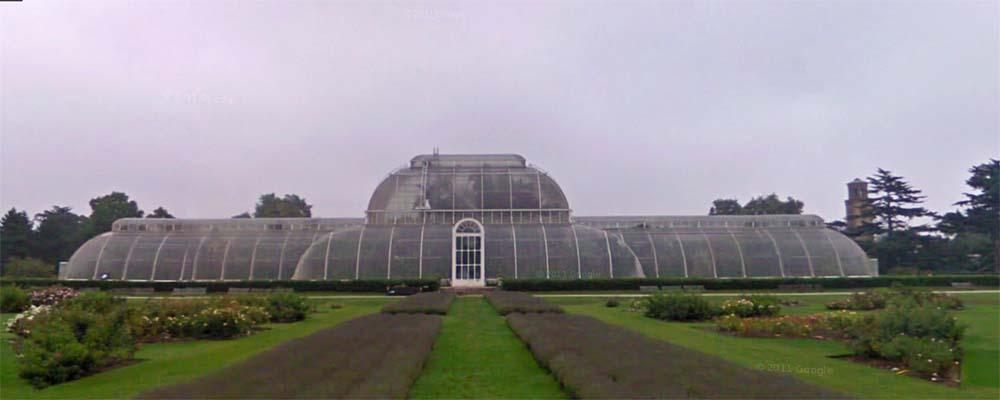Kew Gardens cerca de Londres