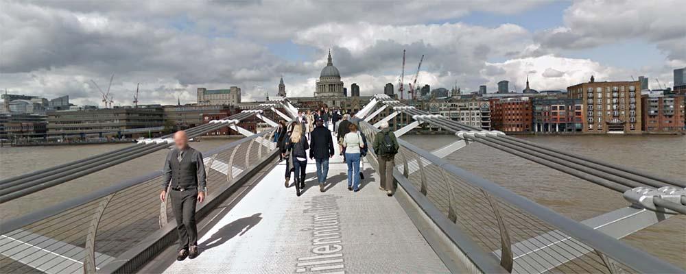 Puente Millennium Bridge