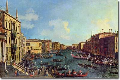 Una Regata en el Gran Canal