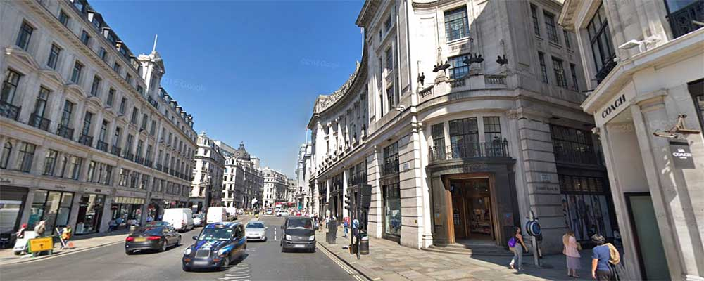 Regent Street de día