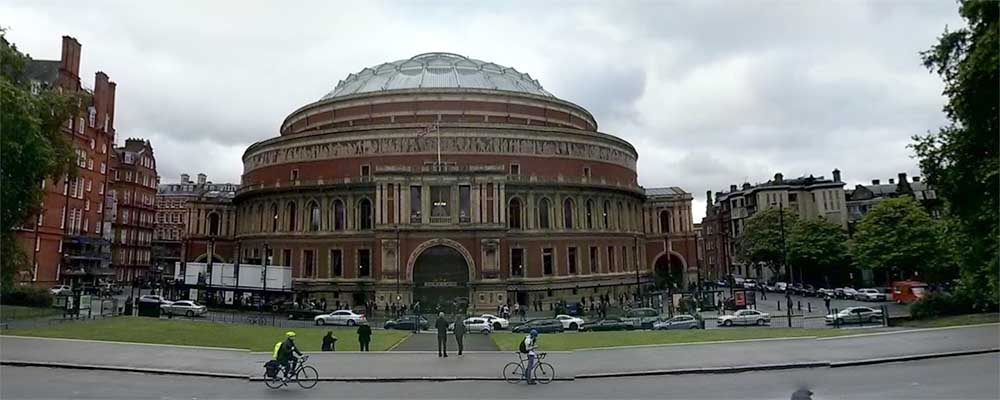 Exterior Royal Albert Hall