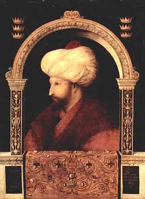 Retrato Sultán Mehmed