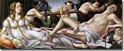 Cuadro Venus y Marte
