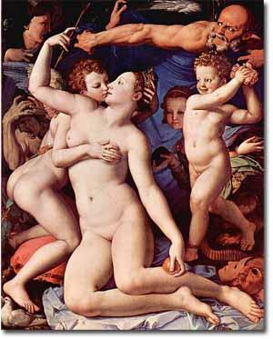 Venus, Cupido, la Locura y el Tiempo