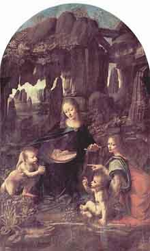 Virgen de las Rocas de París
