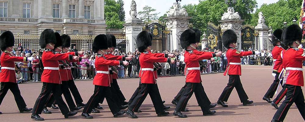 Cambio de Guardia en Buckingham