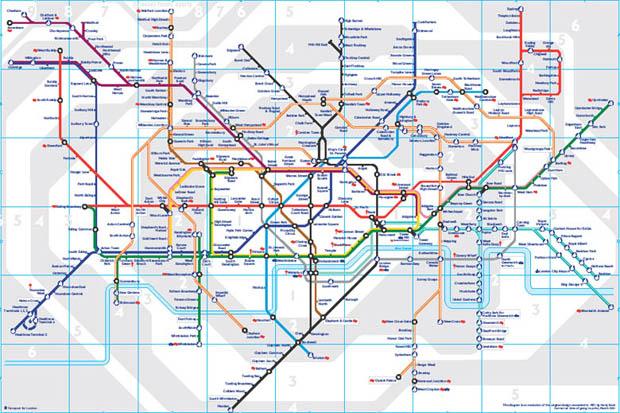 mapa metro londres pdf Lineas del metro de Londres en Viaje por Londres mapa metro londres pdf